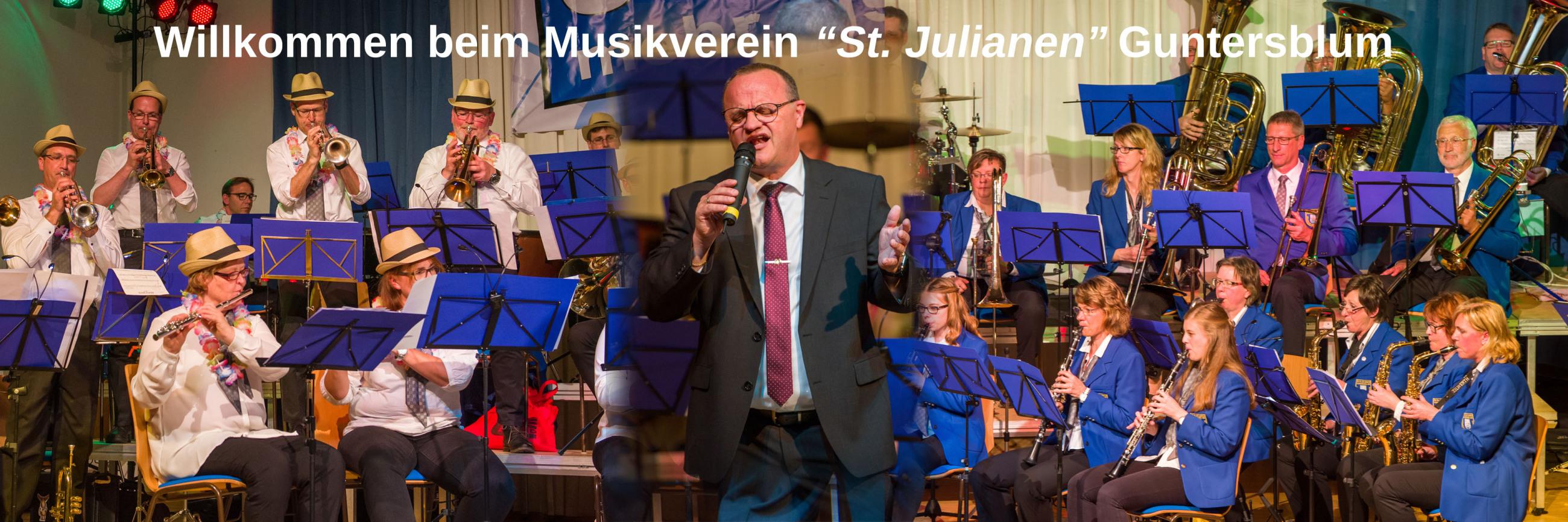 """Willkommen beim Musikverein """"St. Julianen"""" Guntersblum"""
